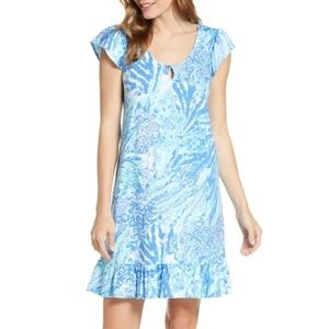 NWT Lilly Pulitzer Rejina Dress in Blue Haven